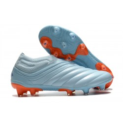 adidas Chaussure de Foot Copa 20+ FG - Ciel Bleu Royal Corail