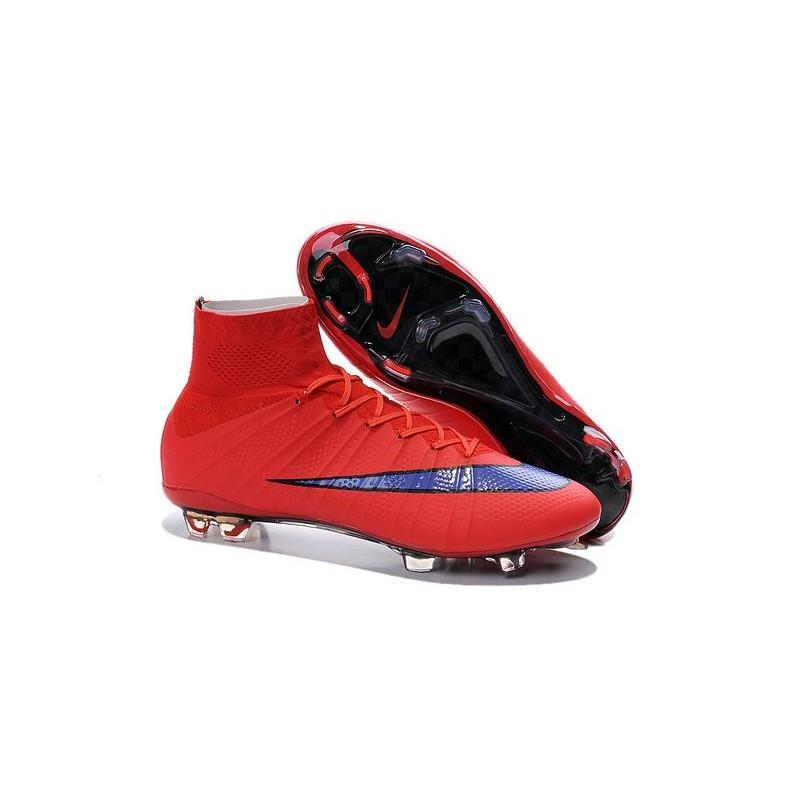 Zvumsp Chaussures Rouge Superfly 4 Mercurial Nike Football Fg Nouveau De 5Rj34AL