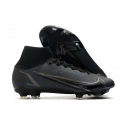 Nike Neuf Mercurial Superfly VIII Elite FG Noir