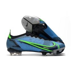 Nike Mercurial Vapor 14 Elite FG Chaussure Bleu Noir Volt