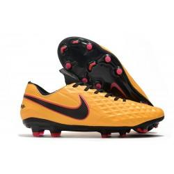 Chaussure de foot Nike Tiempo Legend VIII Elite FG Orange Noir