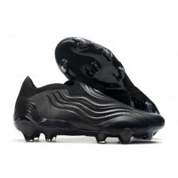 Crampons Foot adidas Copa Sense+ FG Superstealth - Noir Gris