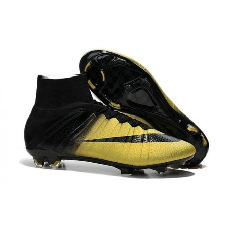 2015 Chaussures Nike Mercurial Superfly FG Cannelle Noir