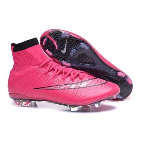 obtenir pas cher coût modéré mieux aimé Nouveau Chaussures de Football Nike Mercurial Superfly 4 FG Noir Rose
