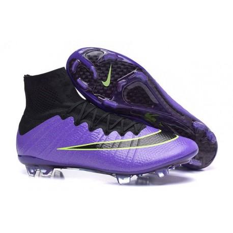 4 Football Mercurial Fg De Vert Chaussures Noir Nike Nouveau Superfly Violet 3L4qAc5Rj