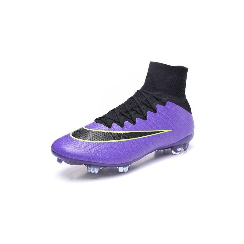 2c9a02cf329 ... clearance nouveau chaussures de football nike mercurial superfly 4 fg  violet vert noir c2207 2a0dd
