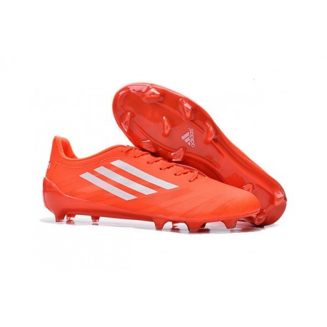 Coupe du monde 2015 Messi Chaussures Adidas Adizero F50 TRX FG Orange Blanc
