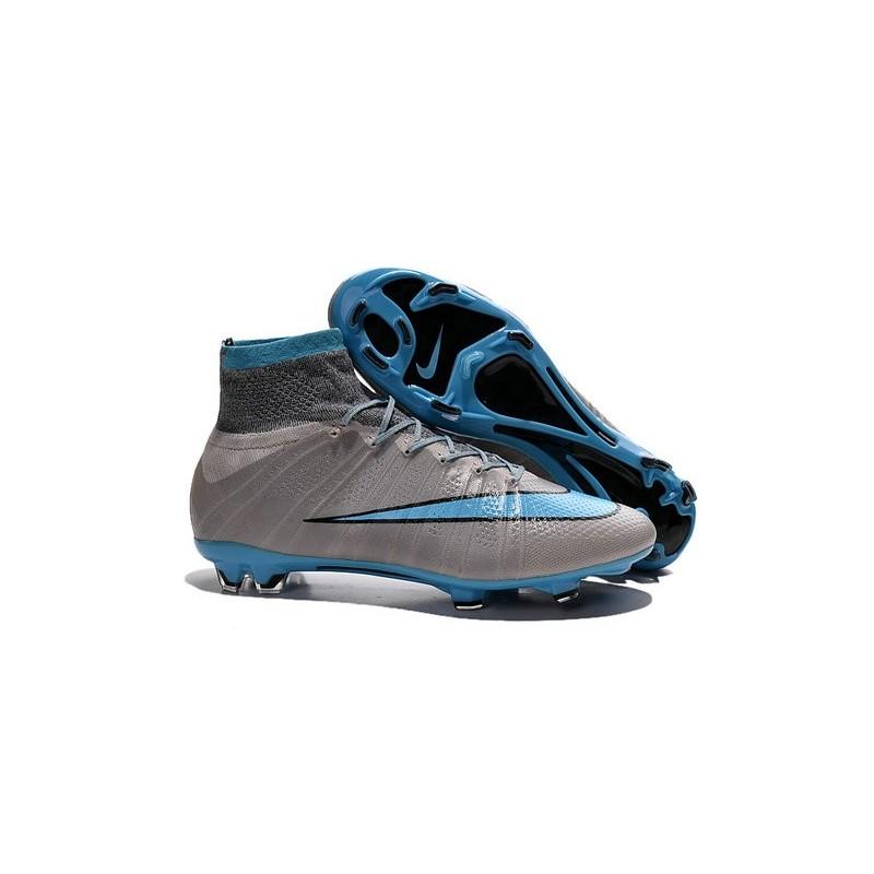 Mercurial Fg Nike Superfly Gris Noir Bleu 2015 Chaussures yOvNw8nm0