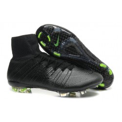 2015 Chaussures Nike Mercurial Superfly FG Noir Volt