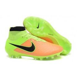 2016 Chaussure de Football Nike Magista Obra FG Beige Noir Volt