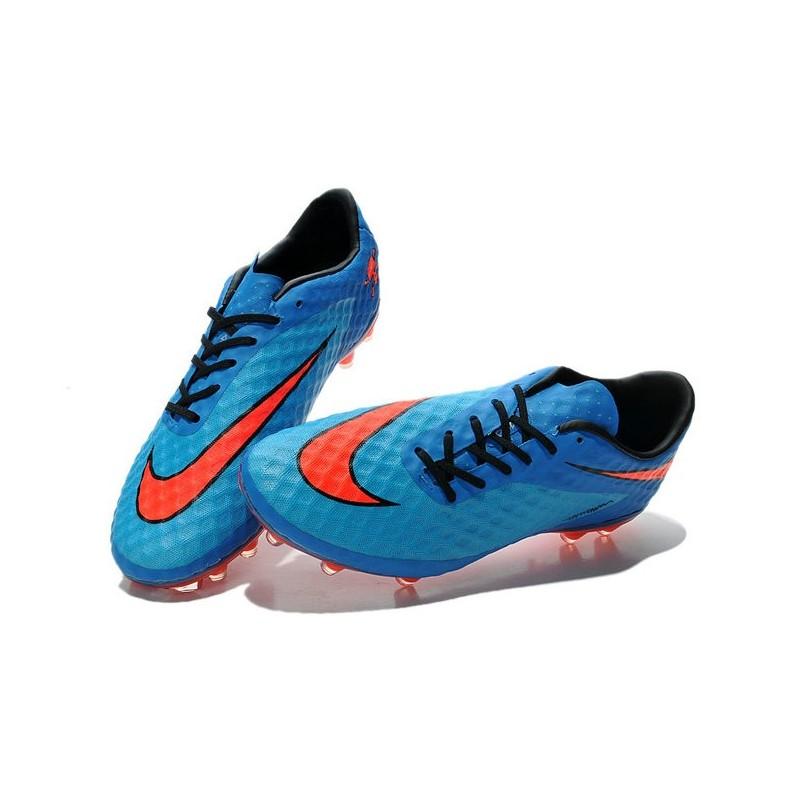 De Chaussures Rouge Hypervenom Bleu Nike Football Fg Nouvelle Phantom Ybf7gv6y