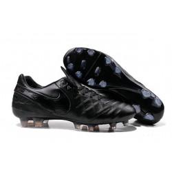 Nike 2016 Chaussures Nike Tiempo Legend VI FG tout Noir