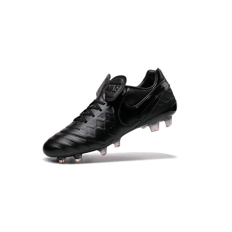 pretty nice ece7b 6162e ... where can i buy nike 2016 chaussures nike tiempo legend vi fg tout noir  5f14b 05a58