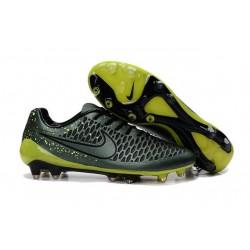 2015 Chaussure de Football Nike Magista Opus FG Hommes Cédrat Volt Noir
