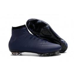 2016 Chaussures Nike Mercurial Superfly FG Bleu Foncé