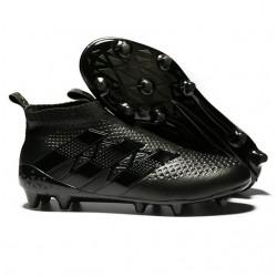 Nouveau Chaussures de Football Adidas Ace16+ Purecontrol FG/AG tout Noir