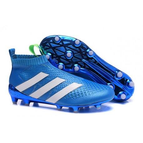 Chaussures Football Ace16Purecontrol Adidas Nouveau Bleu Fgag De Blanc y0mnOvNwP8