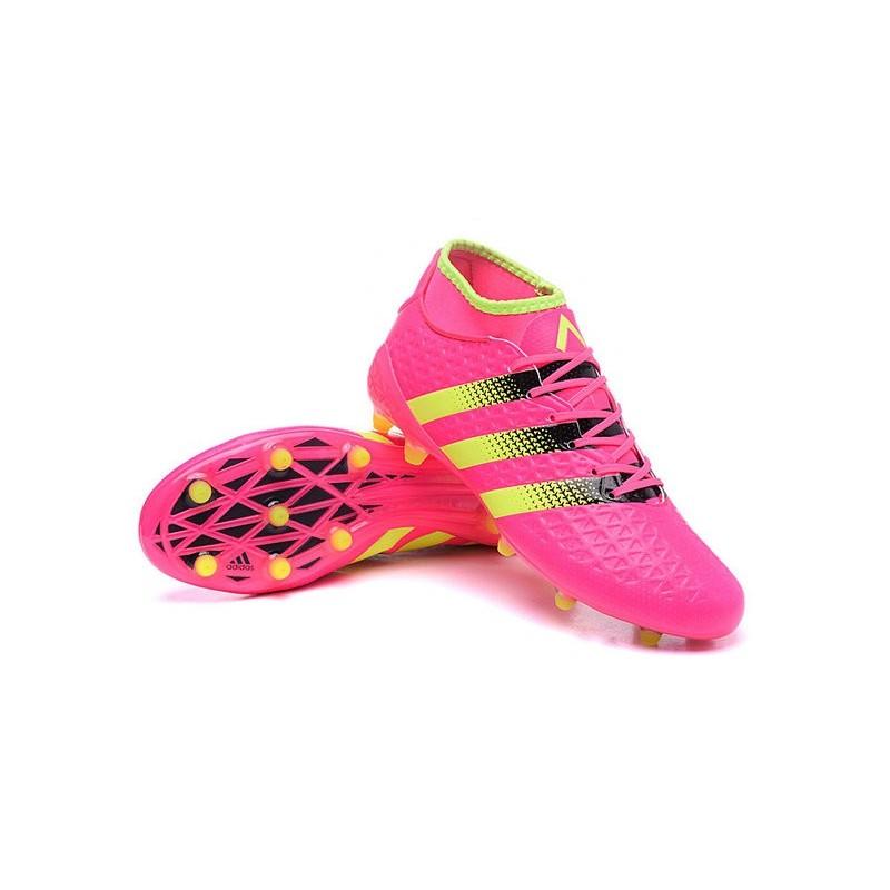 new concept 38221 67683 Adidas Ace Chaussures E4twtx1qx 16 1 Jaune Rose Noir 2016 Primeknit Fgag  dXdg0qxS