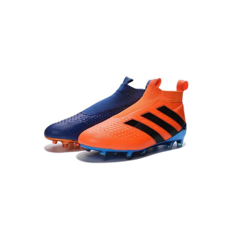 purchase cheap 1076e 2affd Adidas Purecontrol De Fgag Nouveau Bleu Ace16 Chaussures Football 5q8WO5SntR