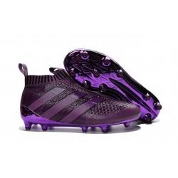 Nouveau Chaussures de Football Adidas Ace16+ Purecontrol FG/AG Violet