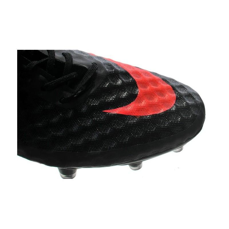Phantom De Nouvelle Hypervenom Noir Orange Nike Football Fg Chaussures redxoWCB