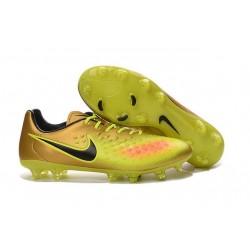 2016 Chaussure de Football Nike Magista Opus II FG Hommes Or Volt Noir