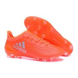 Nouvelles - Chaussures de football Adidas X 16.1 AG/FG Orange Argent