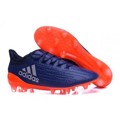Adidas X 16.1 AG/FG - Nouveau Crampons football Violet Orange