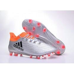 Nouvelles - Chaussures de football Adidas X 16.1 AG/FG Argent Noir Rouge