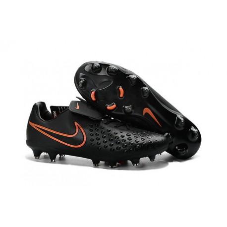 2016 Chaussure de Football Nike Magista Opus II FG Hommes Noir Carmin