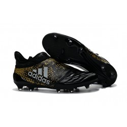 2016 Chaussures de football Adidas X 16+ Purechaos FG/AG Noir Or