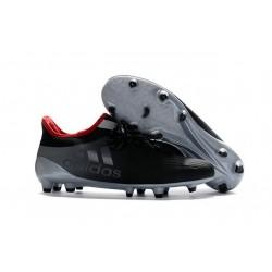Nouvelles - Chaussures de football Adidas X 16.1 AG/FG Gris Noir