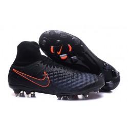 Chaussures de football pour Hommes Nike Magista Obra II FG Noir Carmin