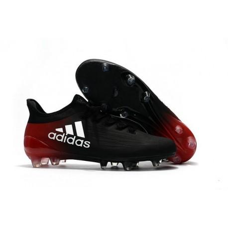 Nouvelles - Chaussures de football Adidas X 16.1 AG/FG Noir Blanc Rouge