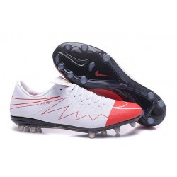 Nouveau 2016 Crampons Nike Hypervenom Phinish FG Wayne Rooney Blanc Rouge Noir