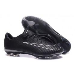 Chaussures de Football 2017 - Nike Mercurial Vapor 11 FG Noir Blanc