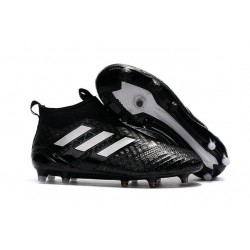 Adidas Ace17+ Purecontrol FG Chaussures de Football Noir Blanc