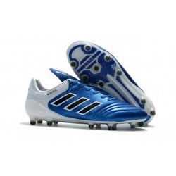 Crampons de Foot adidas Copa 17.1 FG Cuir Bleu Noir