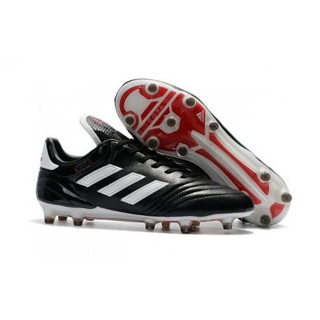 Crampons de Foot adidas Copa 17.1 FG Cuir Noir Blanc Rouge