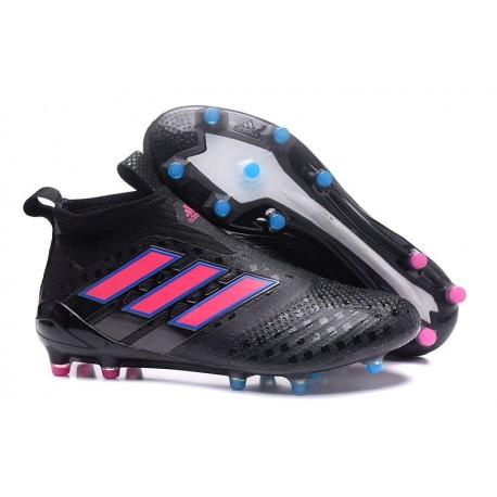Adidas Ace17+ Purecontrol FG Chaussures de Football Noir Rose