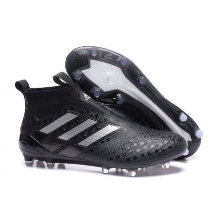 Adidas Nouveau Crampon Foot Ace17+ Purecontrol FG Noir Argent