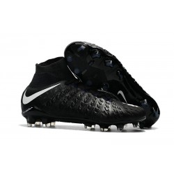 Crampon Foot Nouveaux Nike Hypervenom Phantom III DF FG ACC - Noir Blanc