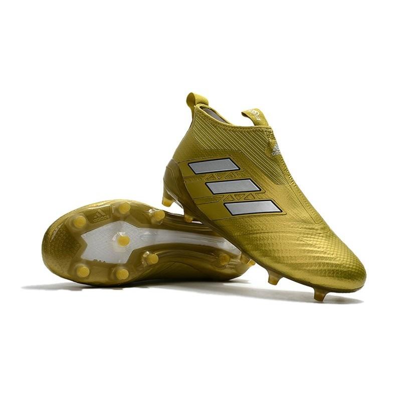 Blanc Nouvel Adidas Chaussure Or De Fg Football Ace17Purecontrol PilwkuOZTX