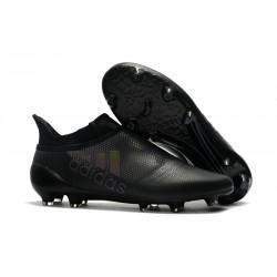 Nouvelle Crampons de Football adidas X 17+ Purespeed FG Noir