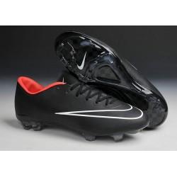 Chaussure de Football sol dur Nike Mercurial Vapor X FG Noir Blanc