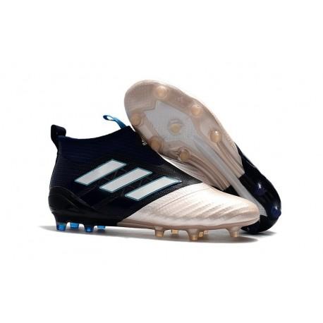 Adidas Ace17+ Purecontrol FG Chaussure de Football Uomo Kith Or Noir Blanc
