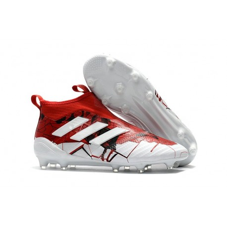 more photos 25e18 3042a Adidas Nouveau Crampon Foot Ace17+ Purecontrol FG Rouge Blan