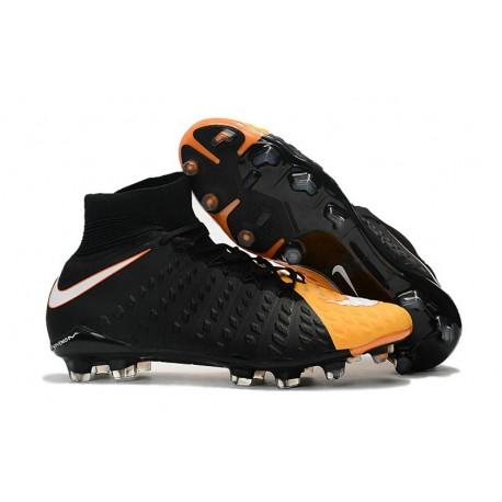 Crampon Foot Nouveaux Nike Hypervenom Phantom III DF FG ACC - Orange Laser Blanc Volt