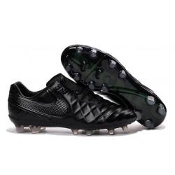 Nouveau Crampons Nike Tiempo Legend V FG Hommes Noir