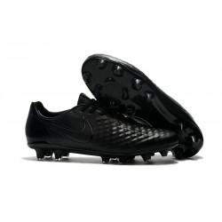 Nouveau Crampons Foot Nike Magista Opus II FG Chaussures Tout Noir